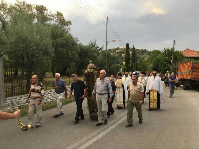 Λευκάδα: Η Παράκληση και η Λιτανεία του Αγίου Γερασίμου στα Ασπρογερακάτα