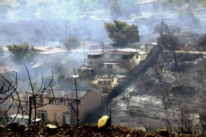 Ειδήσεις: Προφυλακίστηκε ο εμπρηστής για τη φωτιά στο Μαραθώνα