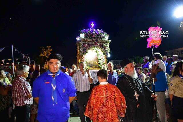 Η Νέα Κίος τίμησε την Παναγία τη Θεομάνα
