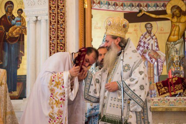 Χειροτονία Πρεσβυτέρου στην Ιερά Μονή Αγίου Γερασίμου Ομαλών