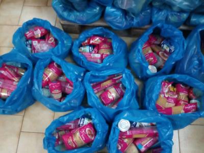 1200 τσάντες από το Κεντρικό Συσσίτιο της Μητρόπολης Κυδωνίας