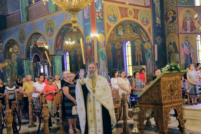 Παράκληση στην Παναγία στην Αγία Παρασκευή Ναυπάκτου