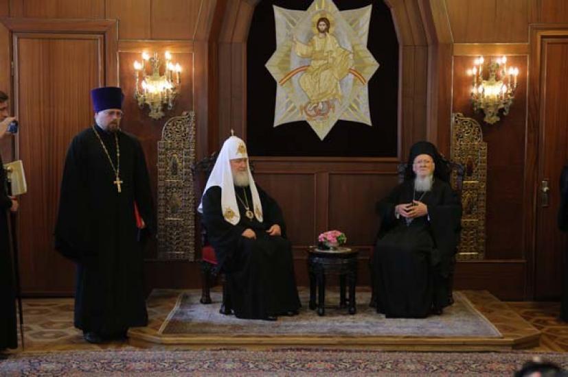 Το ανακοινωθέν του Πατριαρχείου για την επίσκεψη Κύριλλου