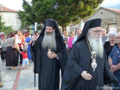 Μεταμόρφωση Σωτήρος: Δισαρχιερατικός Εσπερινός - Ο Επίσκοπος Θεσπιών στο χωριό του