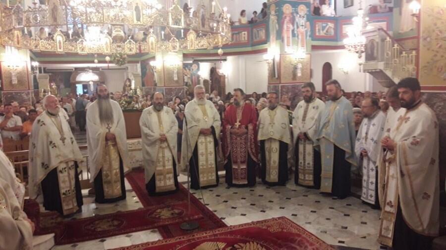 Ο εορτασμός της Κοιμήσεως της Θεοτόκου στην Ιερά Μονή Μεγάλου Σπηλαίου
