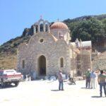 Συνεχίζονται οι εργασίες ανέγερσης του Προσκυνηματικού Ναού, αφιερωμένου εις τον Όσιο Νικηφόρο τον Λεπρό