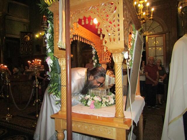 Λευκάδα: Αναχώρησε η Τίμια Κάρα του Αγίου Βησσαρίωνος