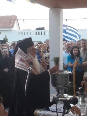 Σάμος: Πλήθος πιστών στα Θυρανοίξια Παρεκκλησίου Αγίων Κωνσταντίνου και Ελένης