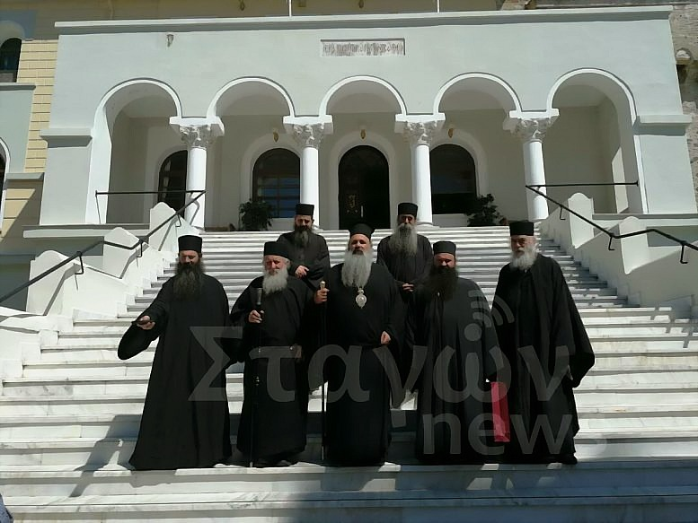 Στο Άγιο Όρος ο Μετεώρων Θεόκλητος πρώτη φορά ως Επίσκοπος