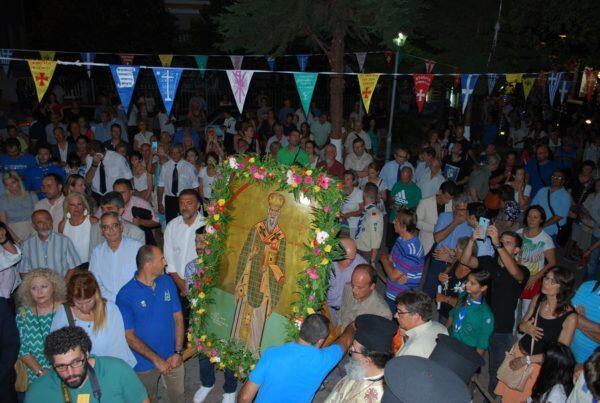Λαμπρή Εορτή του Αγίου Αλεξάνδρου στο Παλαιό Φάληρο