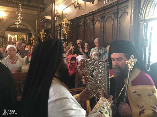 Η Κέρκυρα τιμά την ανάμνηση του θαύματος του Αγίου Σπυρίδωνος