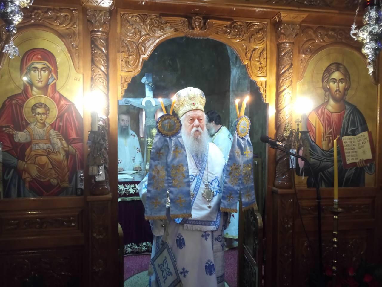 Ιερά Μονή Ραγιού: Πλήθος πιστών στην απόδοση της Εορτής της Κοιμήσεως της Θεοτόκου
