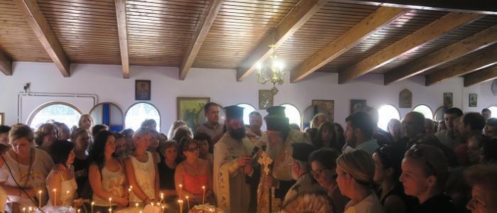 Άγιος Φανούριος: Κοσμοσυρροή πιστών στη Λαμία