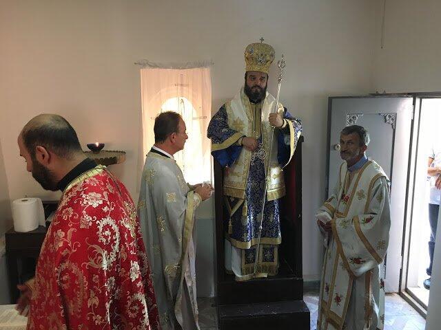 Στο Αγίασμα της Θείας Μεταμορφώσεως στον Άγιο Γεώργιο Κυπαρισσά