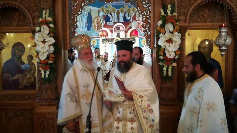 Χειροτονία Πρεσβυτέρου στην πανηγυρίζουσα Ιερά Μονή Μαλεβής