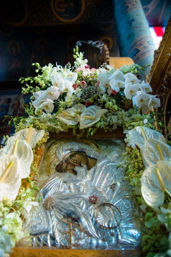 Με λαμπρότητα πανηγύρισε η Ιερά Μονή Κοιμήσεως Θεοτόκου Μάκρης