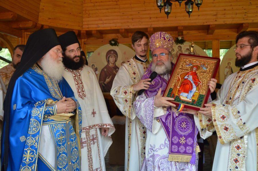 Αντίγραφο της Παναγίας Βηματάρισσας από Άγιο Όρος στη Ρουμανία