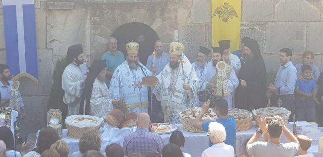 Τα εννιάμερα της Παναγίας στον ιστορικό Ναό Πόρτας Παναγιάς στην Πύλη Τρικάλων