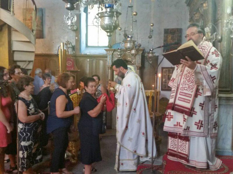 Πανηγυρική Θεία Λειτουργία της εορτής της Μεταμορφώσεως στον Ενοριακό Ναό Αγίας Τριαδος Καλάμου