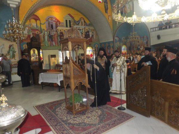 Παράκληση στην Παναγία από τον Μητροπολίτη Κορίνθου Διονύσιο