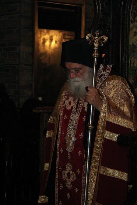 Λαμπρή Εορτή της Παναγίας της Τρικορφιώτισσας