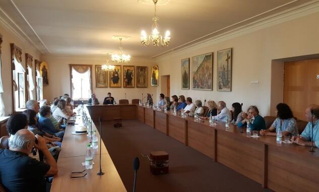 Εκκλησία Ρωσίας: Προσκυνητές από την Πορτογαλία στο Τμήμα Εξωτερικών Εκκλησιαστικών Σχέσεων