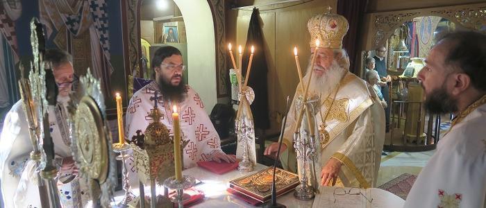 Κυριακή Μετά την Κοίμηση της Παναγίας στην Ανάβρα Αλμυρού