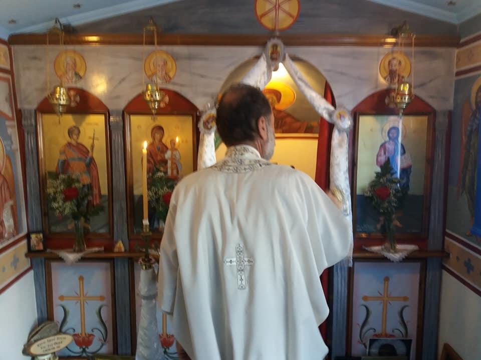 Άγιος Φανούριος: Πανηγυρική Θεία Λειτουργία στην Κάλυμνο