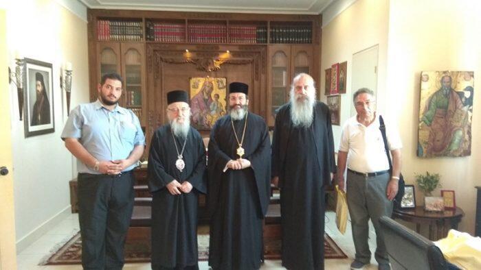 Επίσκεψη του Επισκόπου Μεσαορίας στο Μεσολόγγι