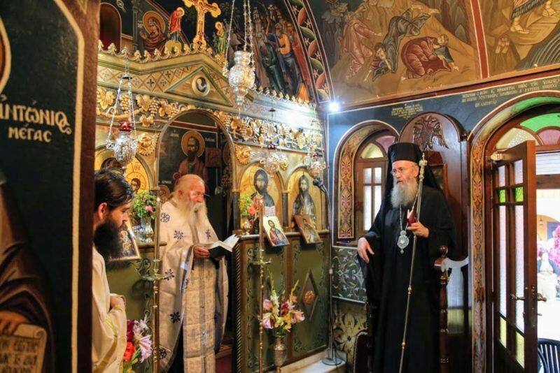 Παράκληση στο Ιερό Ησυχαστήριο της Παναγίας Γοργοεπηκόου