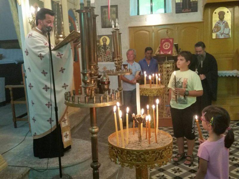 Ιερά Παράκληση στην Υπεραγία Θεοτόκου στον Ναό Αγίου Γεωργίου Επισκοπής