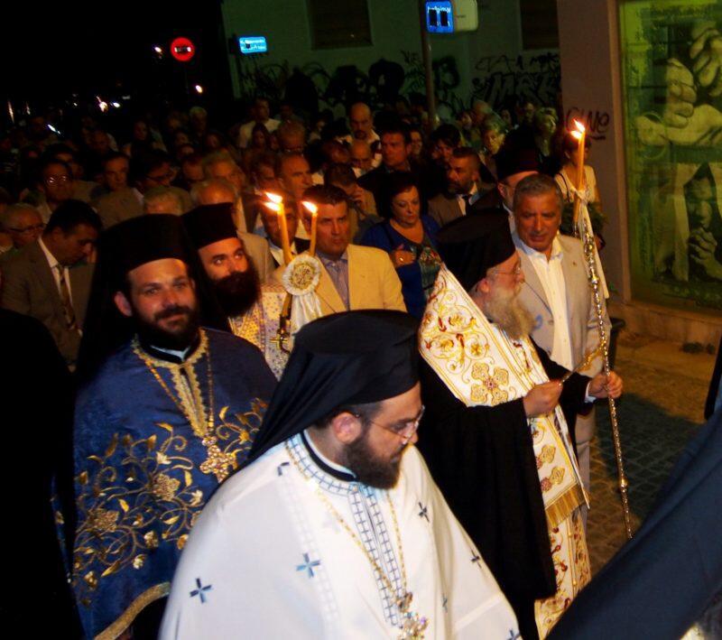 Κοίμηση της Θεοτόκου: Κηφισίας Κύριλλος και πλήθος πιστών στο Μαρούσι