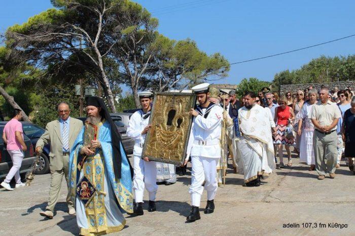 Ο εορτασμός της Κοιμήσεως της Θεοτόκου στην Παναγία την Μυρτιδιώτισσα