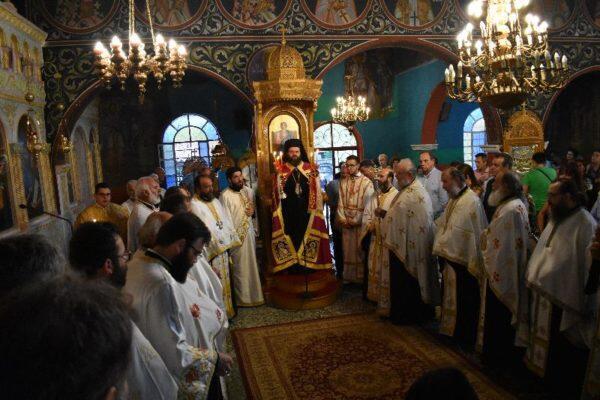 Λαμπρή πανήγυρις στην Ιερά Μονή Παναγίας Φανερωμένης Βαθυρρύακος