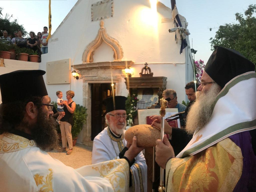 Η Mεγάλη Παράκληση στην Ιερά Μονή Παναγίας Φανερωμένης «Τράχηλα» Σητείας