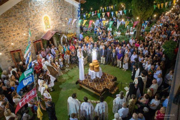 Πανήγυρη Ιεράς Μονής Ιερουσαλήμ Δαυλείας