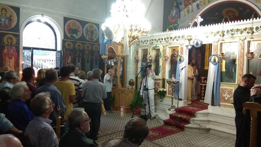 Αγιος Κοσμάς ο Αιτωλός: Ο Εσπερινός στο Μέγα Δένδρο Αιτωλίας