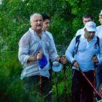 Αγιο Όρος: Για πρώτη φορά Αρχηγός Κράτους ανέβηκε στην κορυφή του Άθω