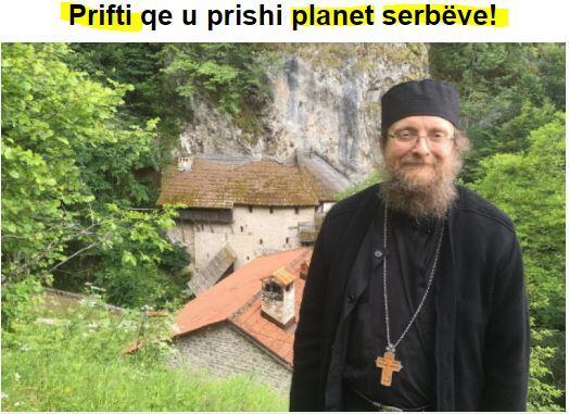 Ειδήσεις: Ορθόδοξος ιερέας δημιούργησε πανικό σε Κοσσυφοπέδιο και Σερβία
