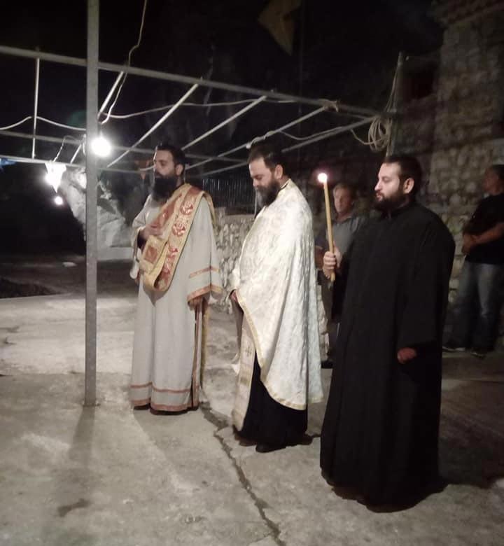 ιερά μονή αγίων πατέρων λευκάδας άγιος φανούριος αγρυπνία