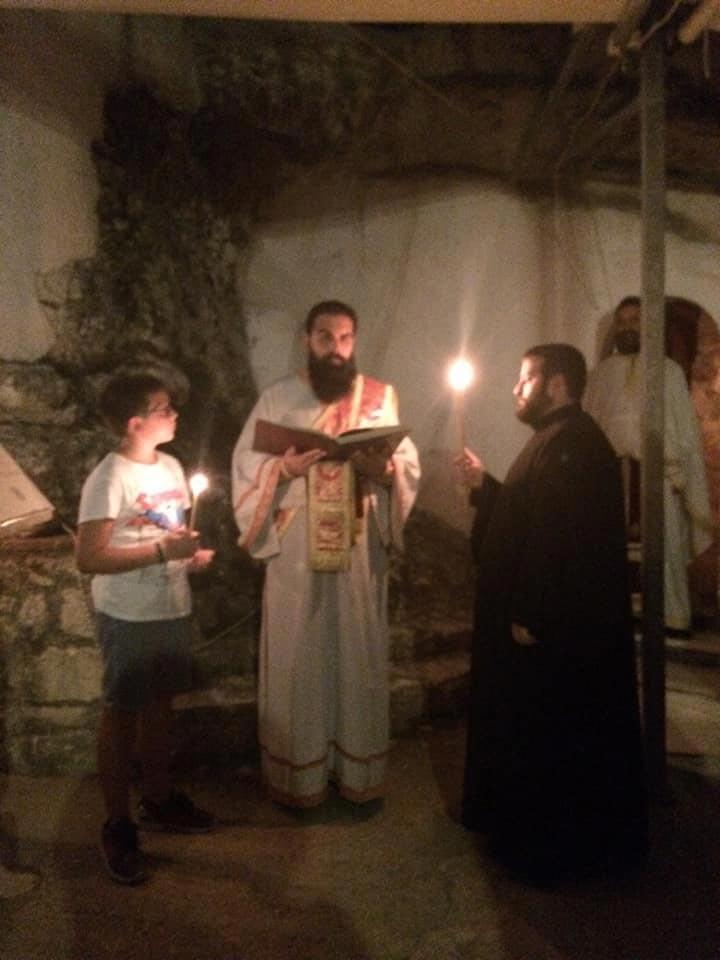 ιερά μονή αγίων πατέρων άγιος φανούριος αγρυπνία