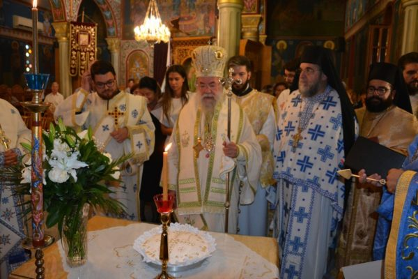 Η εορτή του Αγίου Τριανταφύλλου του εκ Ζαγοράς στην Ι.Μ. Ελευθερουπόλεως