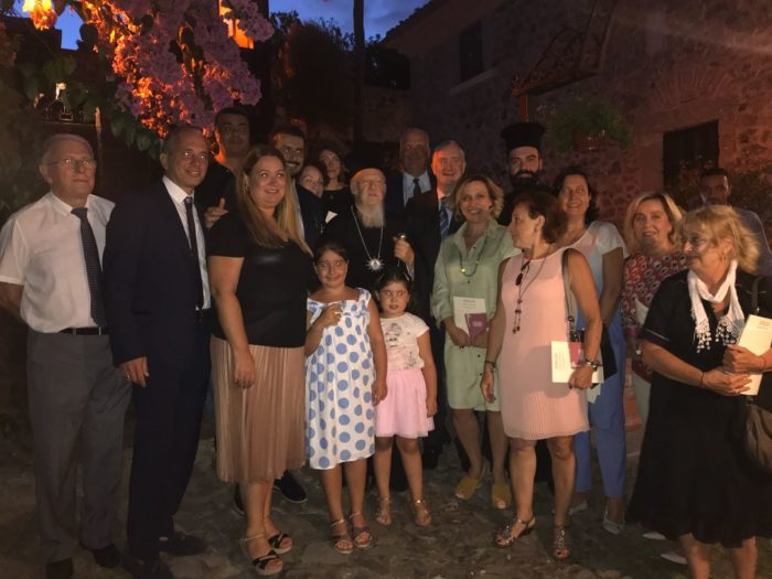 Παρουσίαση της νεανικής ποιητικής ανθολογίας του Οικουμενικού Πατριάρχη στο Νιχώρι