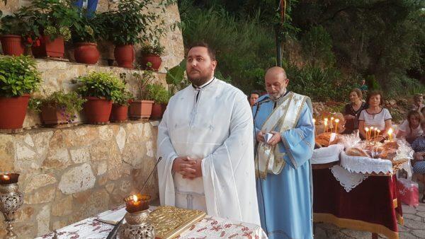 Απόδοση Κοιμήσεως Θεοτόκου: Πλήθος κόσμου στην Παναγία Χελιδονού