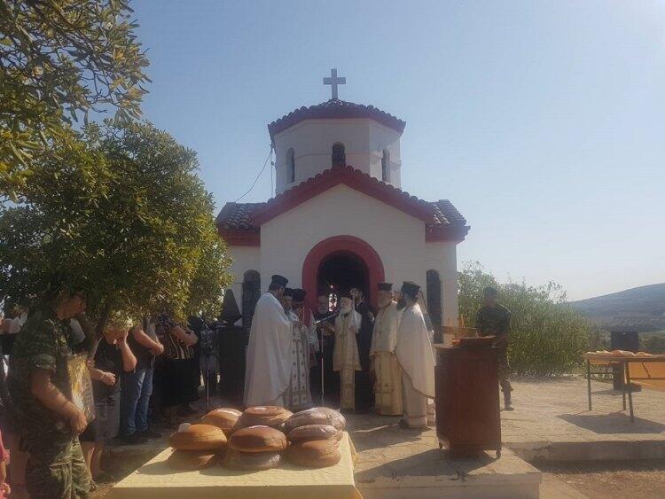 Λαμπρή Εορτή του Αγίου Αλεξάνδρου στο στρατόπεδο Μπετεινάκη
