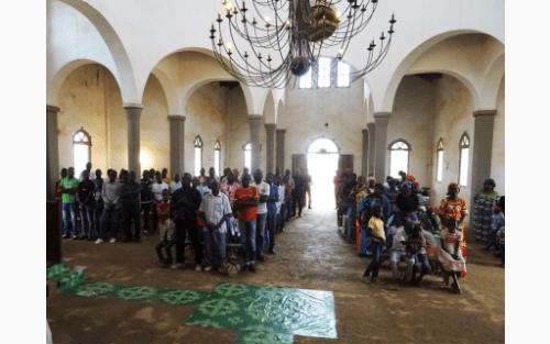 Ποιμαντική επίσκεψη Μητροπολίτη Μπραζαβίλ στην πόλη Nkayi