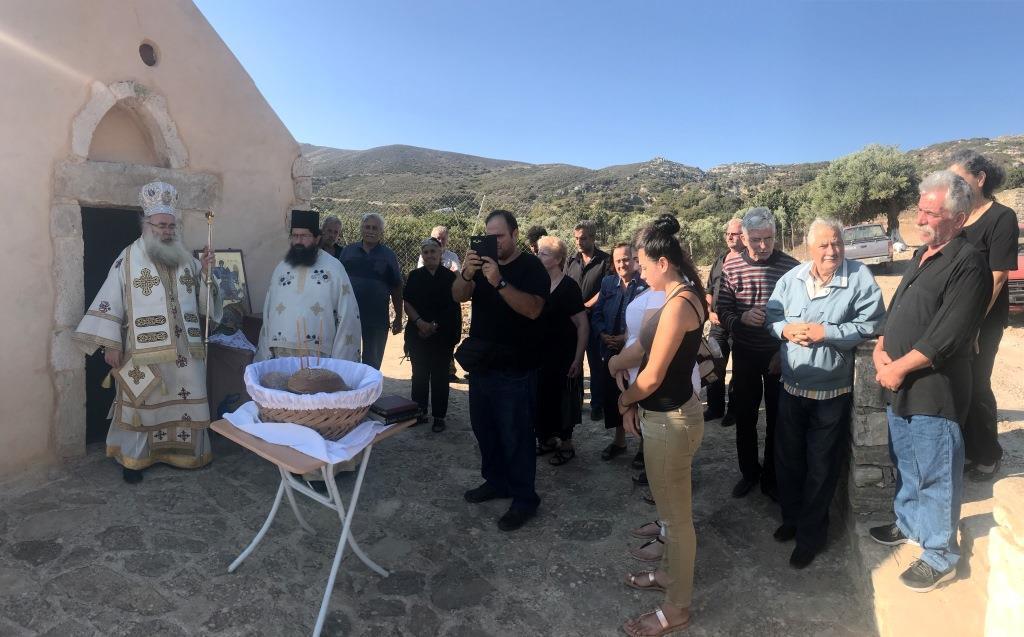 Αρχιερατική Θεία Λειτουργία στον Ιερό Ναό Αγίου Γεωργίου Άσσαρης