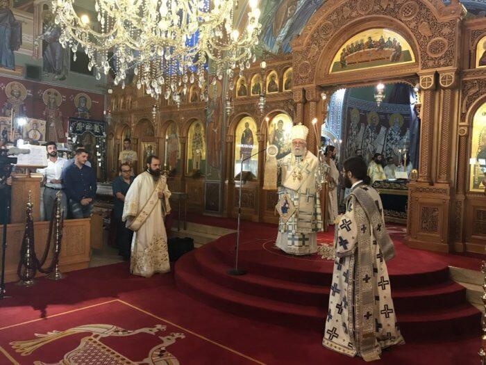 Χειροτονία νέου πρεσβυτέρου στη Μητρόπολη Κωνσταντίας