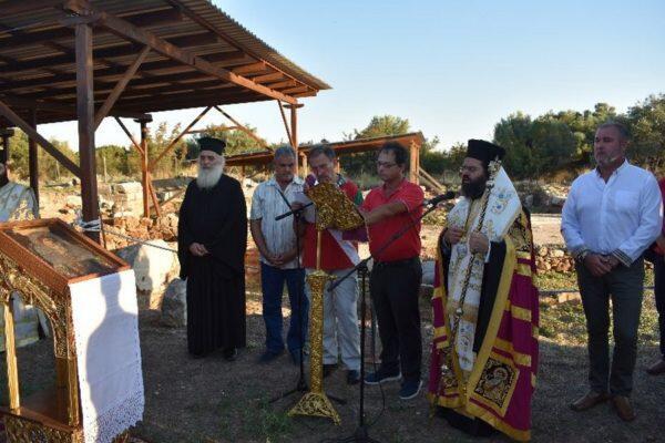 Παράκληση προς την Παναγία από τον Μητροπολίτη Μαρώνειας