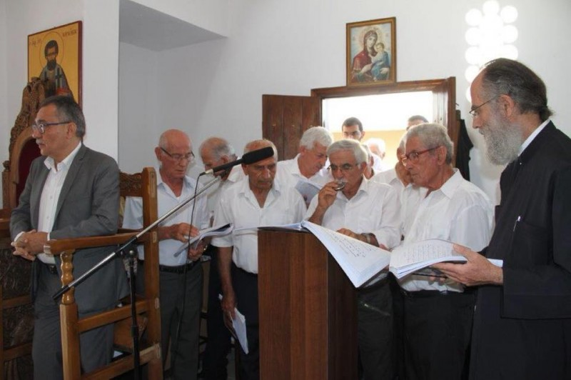 """Εγκαίνια του Λυσιώτικου Εξωκλησιού """"Άγιος Ευφημιανός"""" στον Βόλο"""